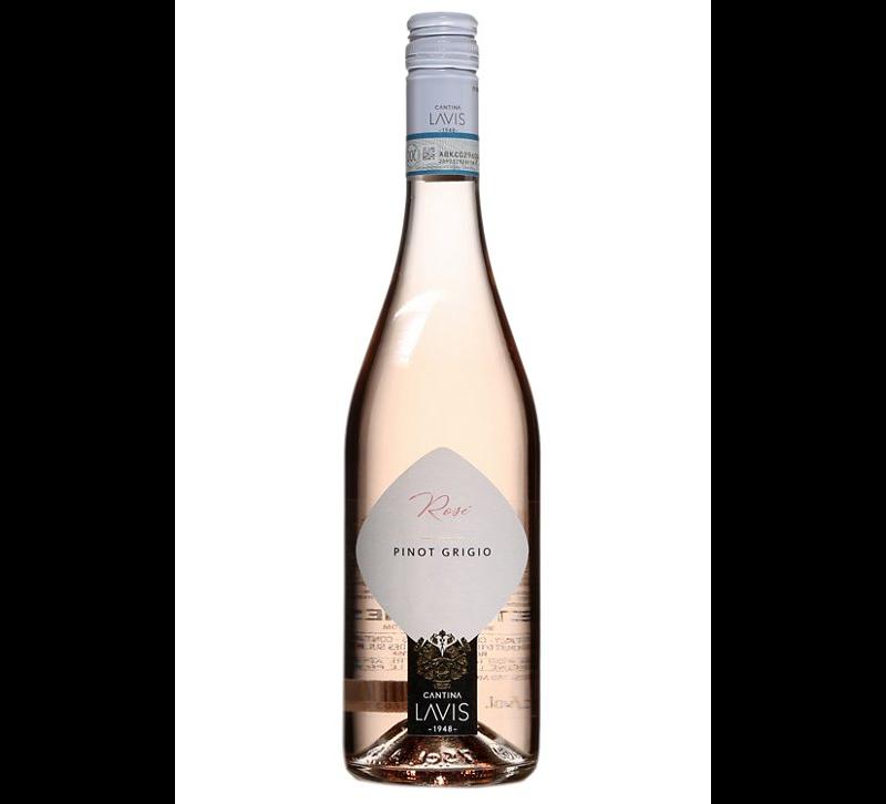 bouteille de vin rosé Simboli Pinot Grigio