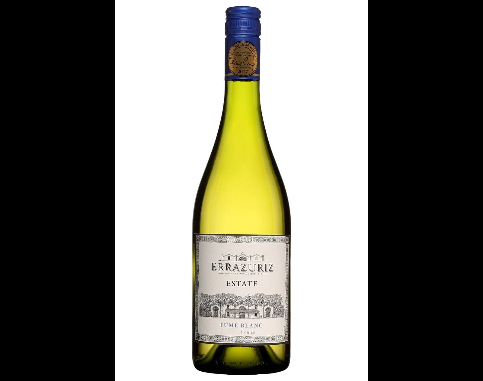 bouteille de vin blanc Errazuriz Fumé Blanc
