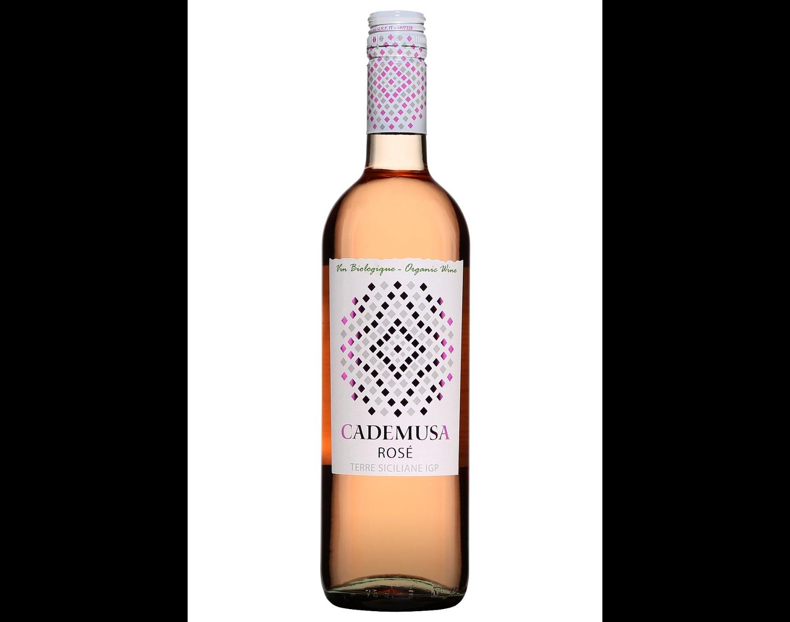 bouteille vin rosé Cademusa Terre Siciliane 2018