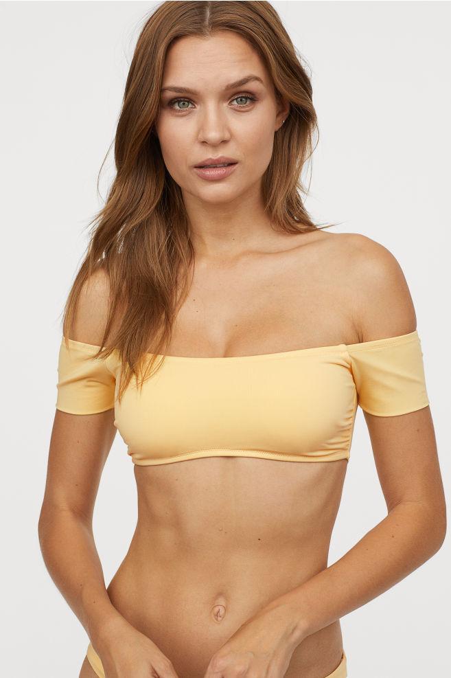 maillot épaules dénudés