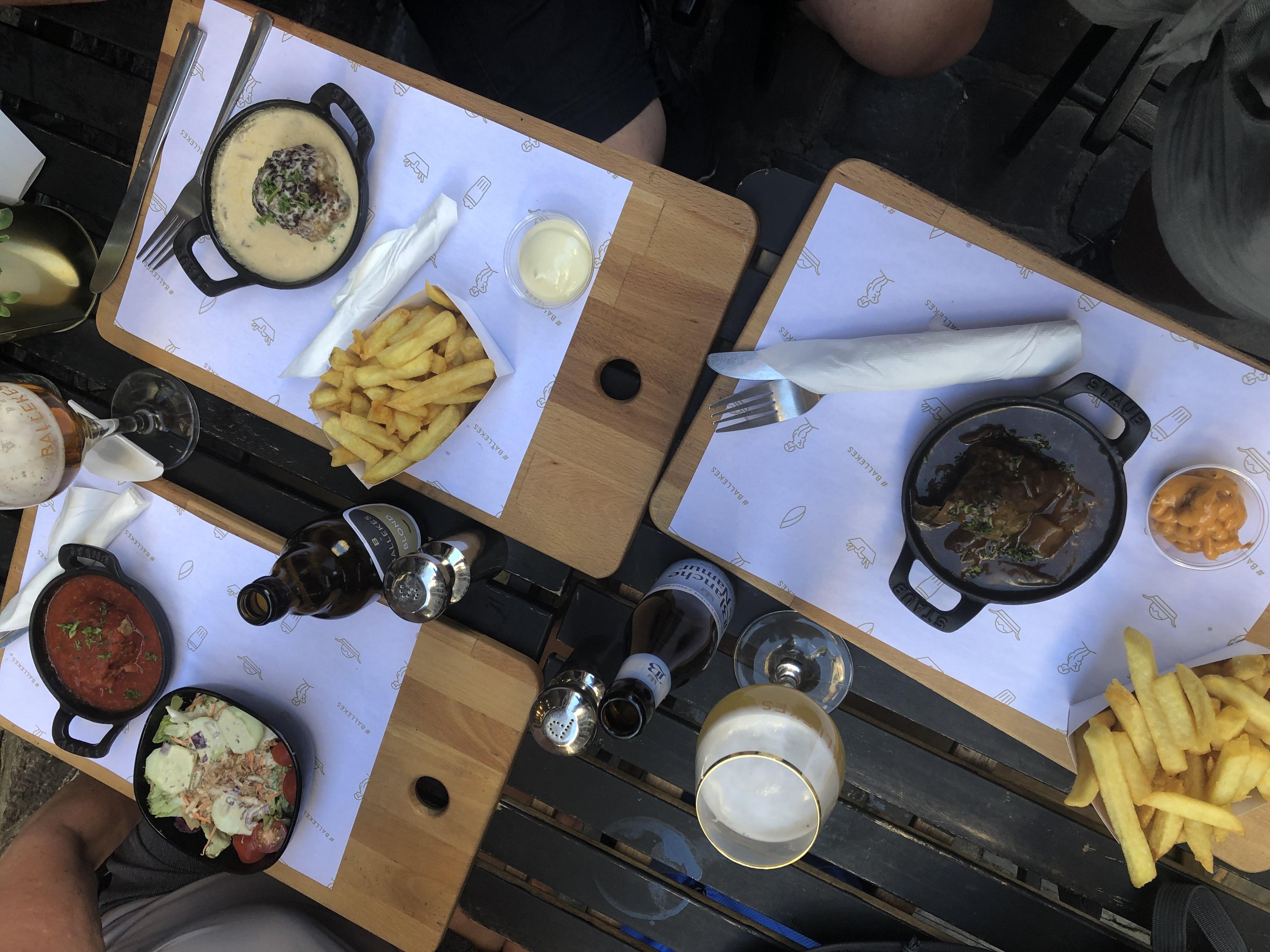 nourriture restaurant belges