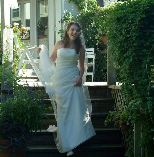 erika dandavino mariage robe