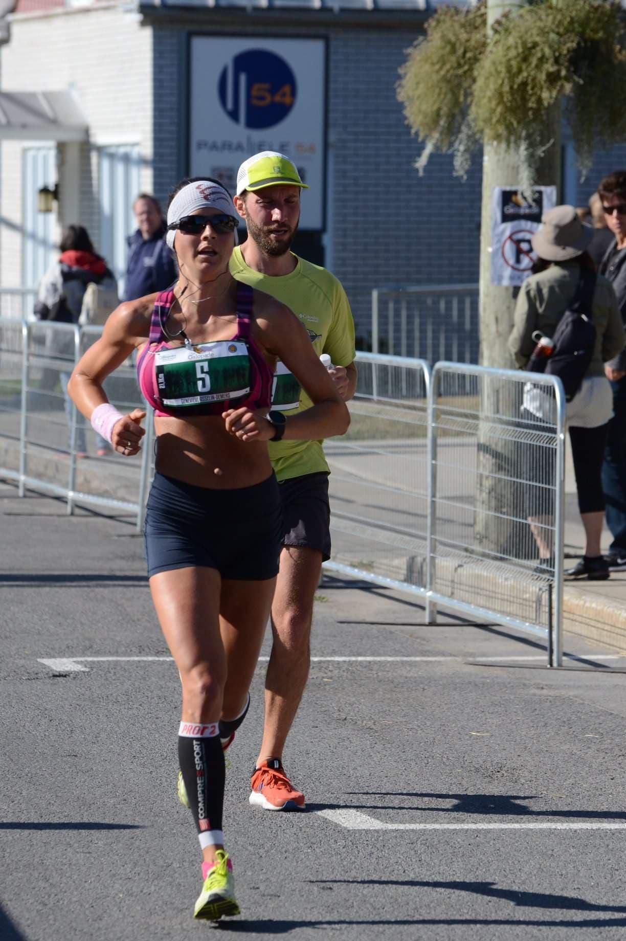 genevieve asselin-demers course demi-marathon