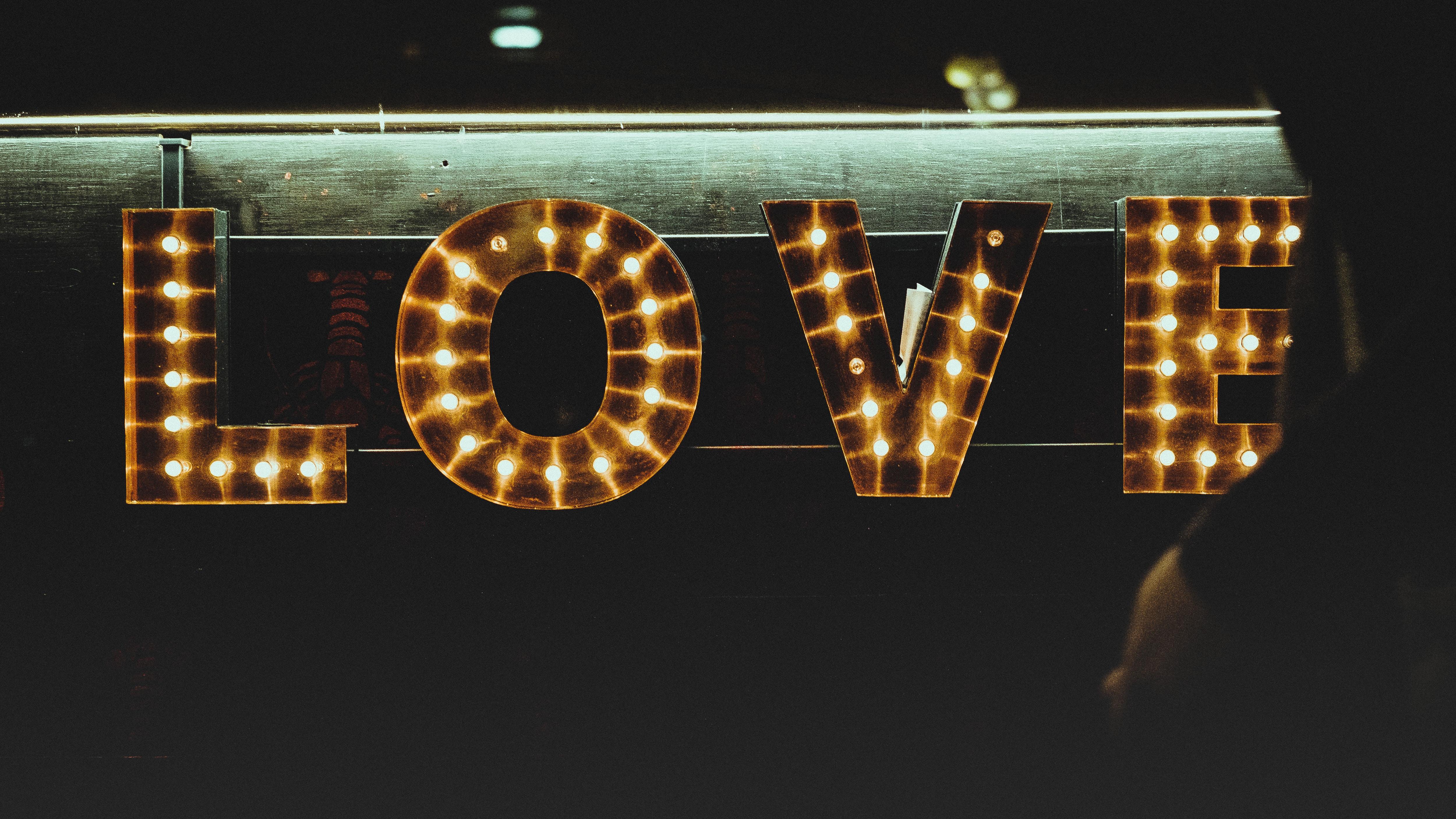 love amour lumières