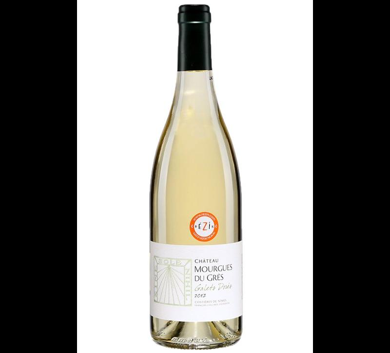 vin blanc Château Mourgues Du Grès Les Galets Dorés 2018