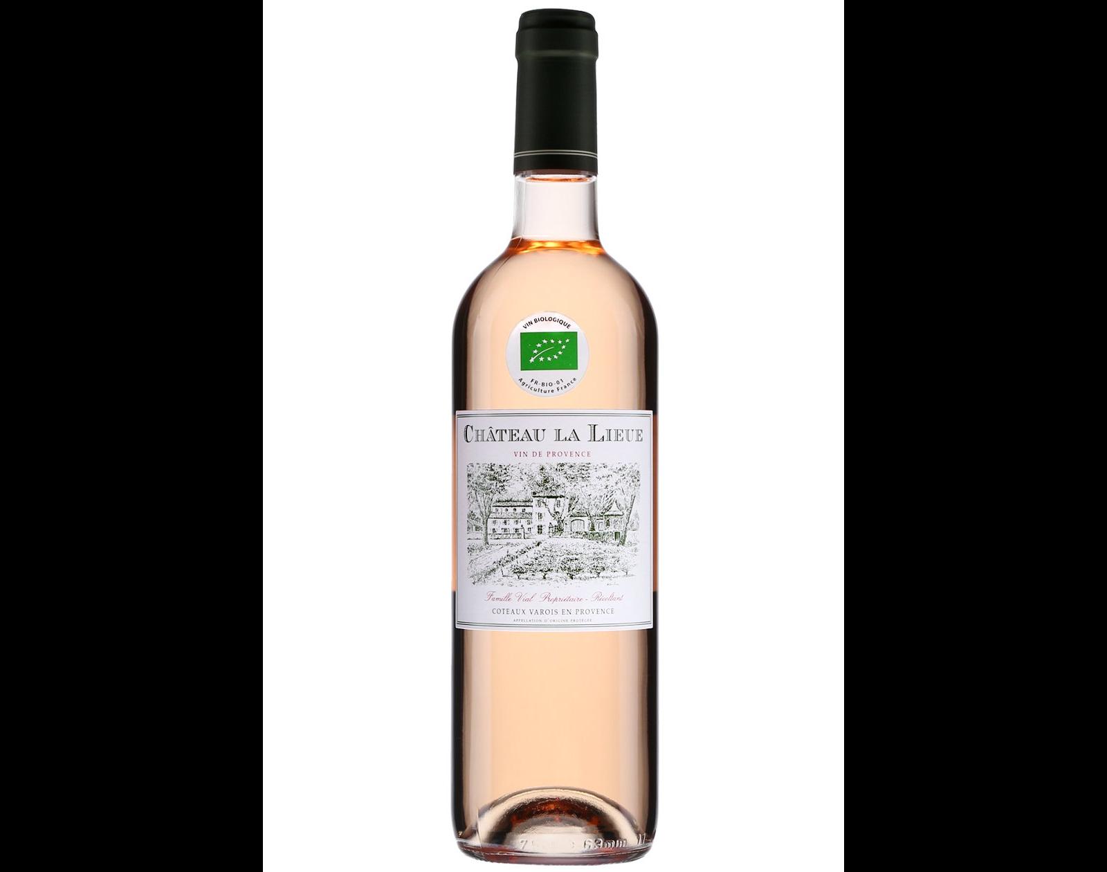 Château de Lieue Coteaux Varois en Provence 2018 vin roséChâteau de Lieue Coteaux Varois en Provence 2018 vin rosé