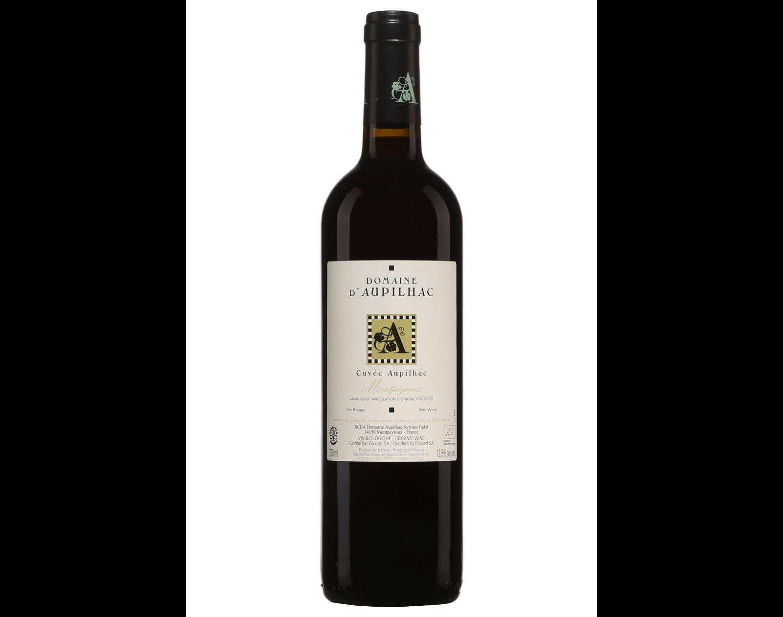 Domaine d'Aupilhac Montpeyroux 2015 vin rouge