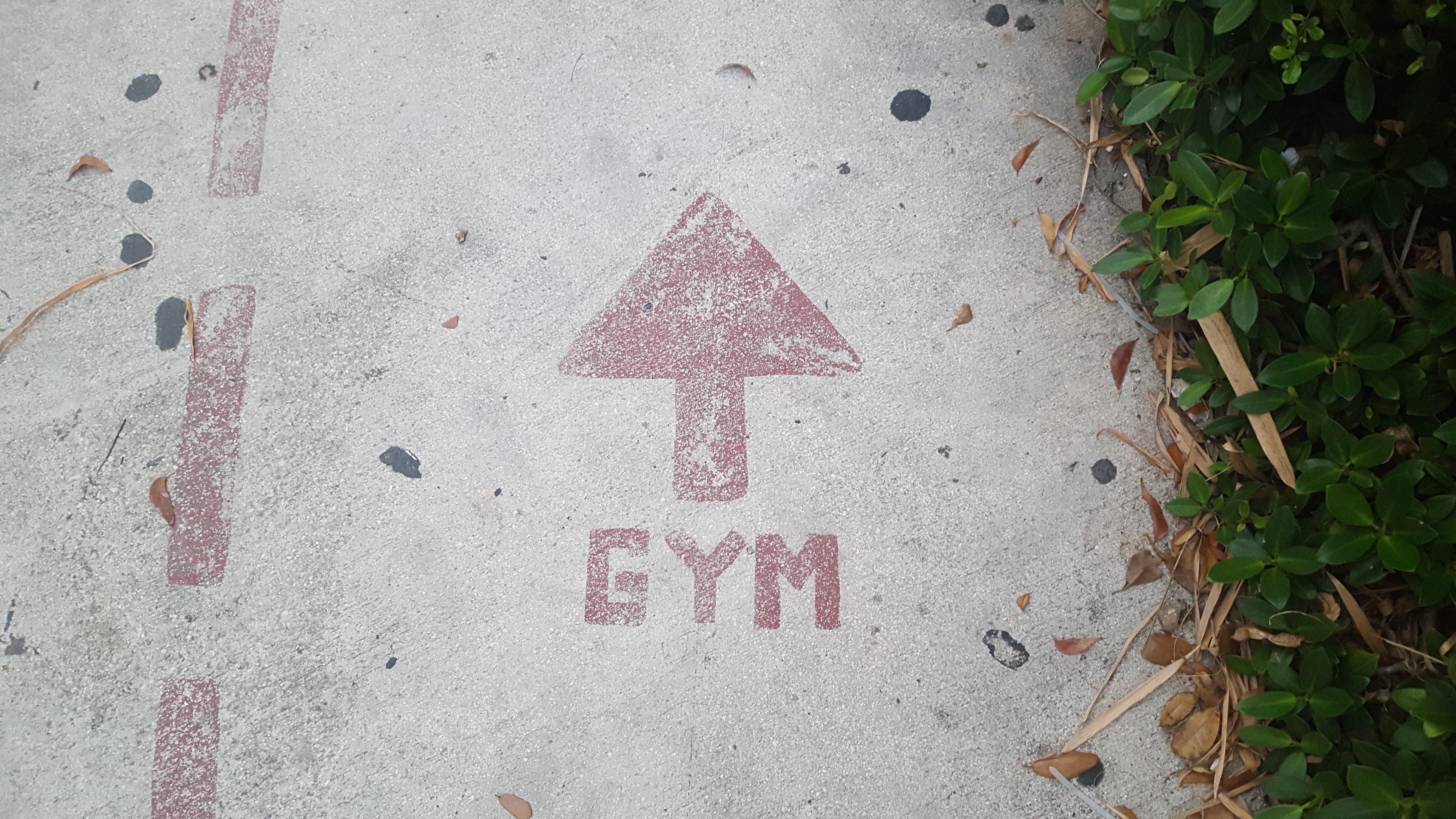 gym signe flèchegym signe flèche