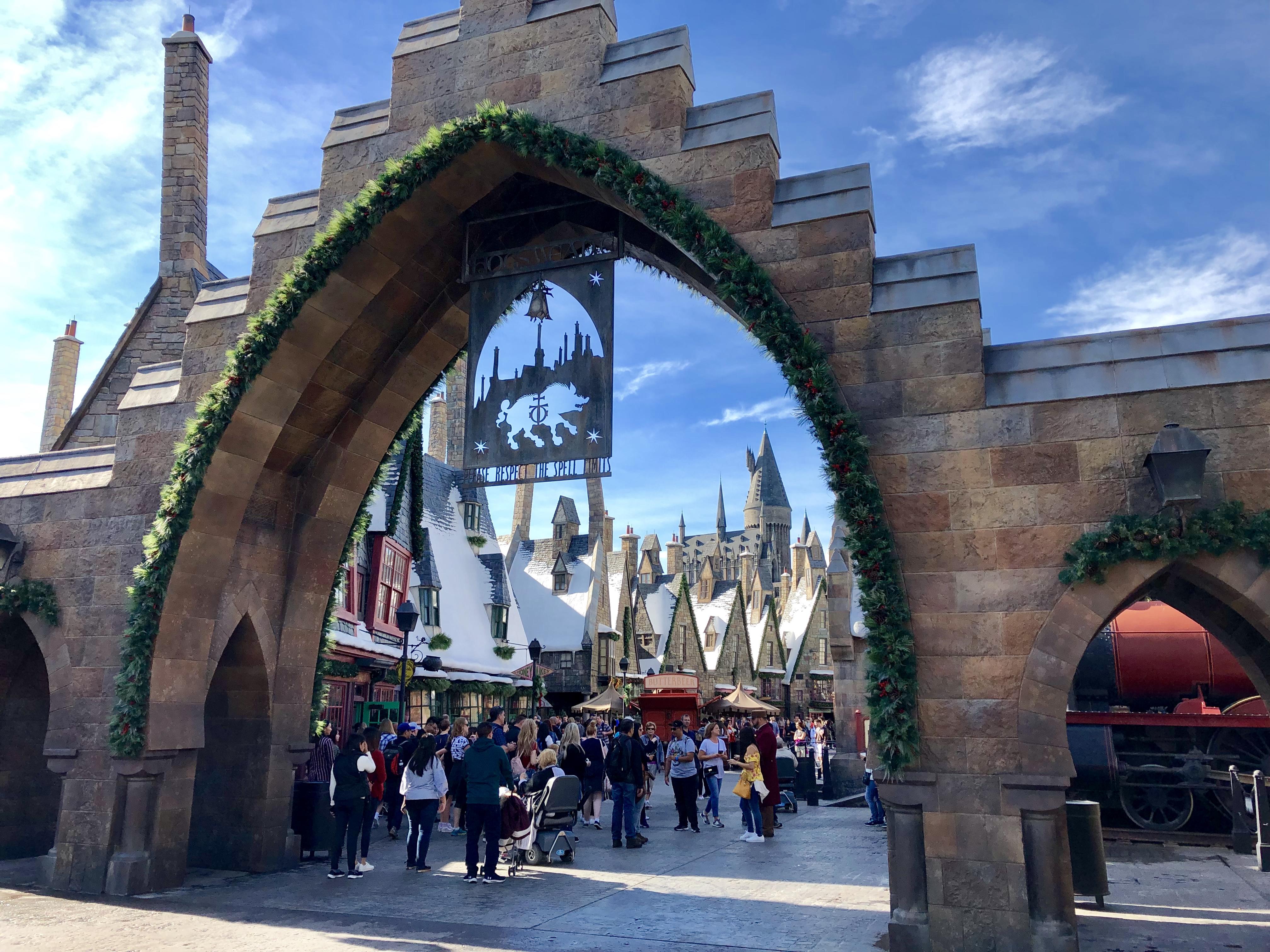 wizarding world of harry potter universal studios pré-au-lard