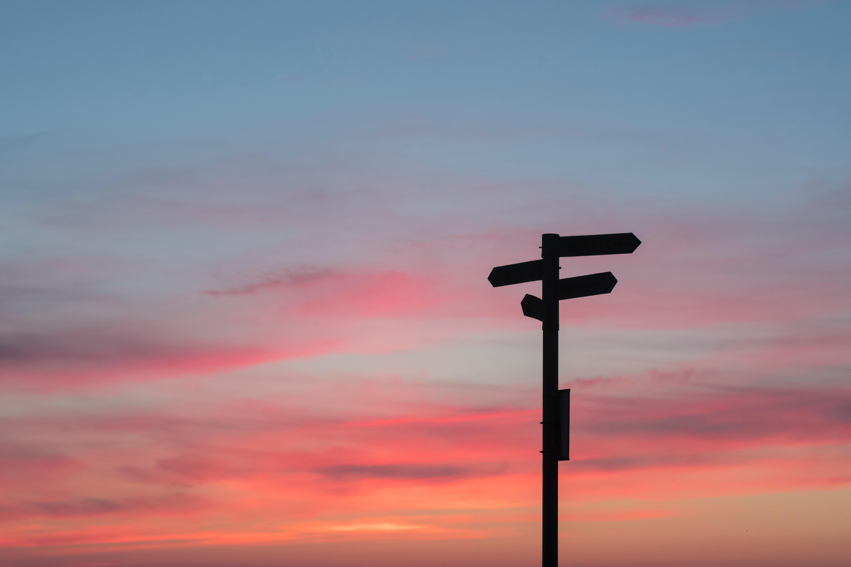 directions coucher de soleil