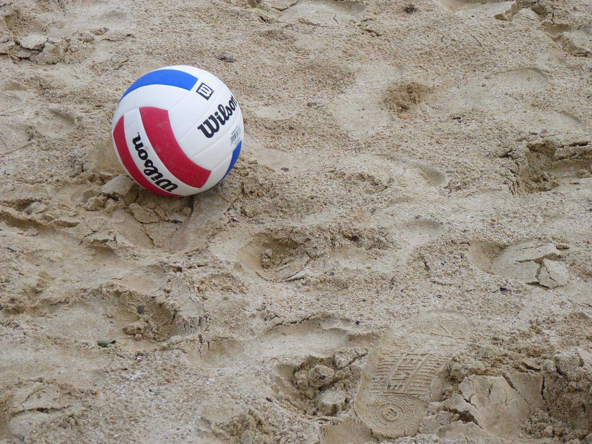 volleyball de plage sable ballon