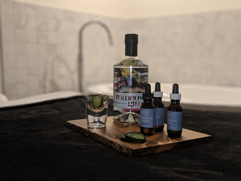 camille dg paus spa sherbrooke romeo's gin