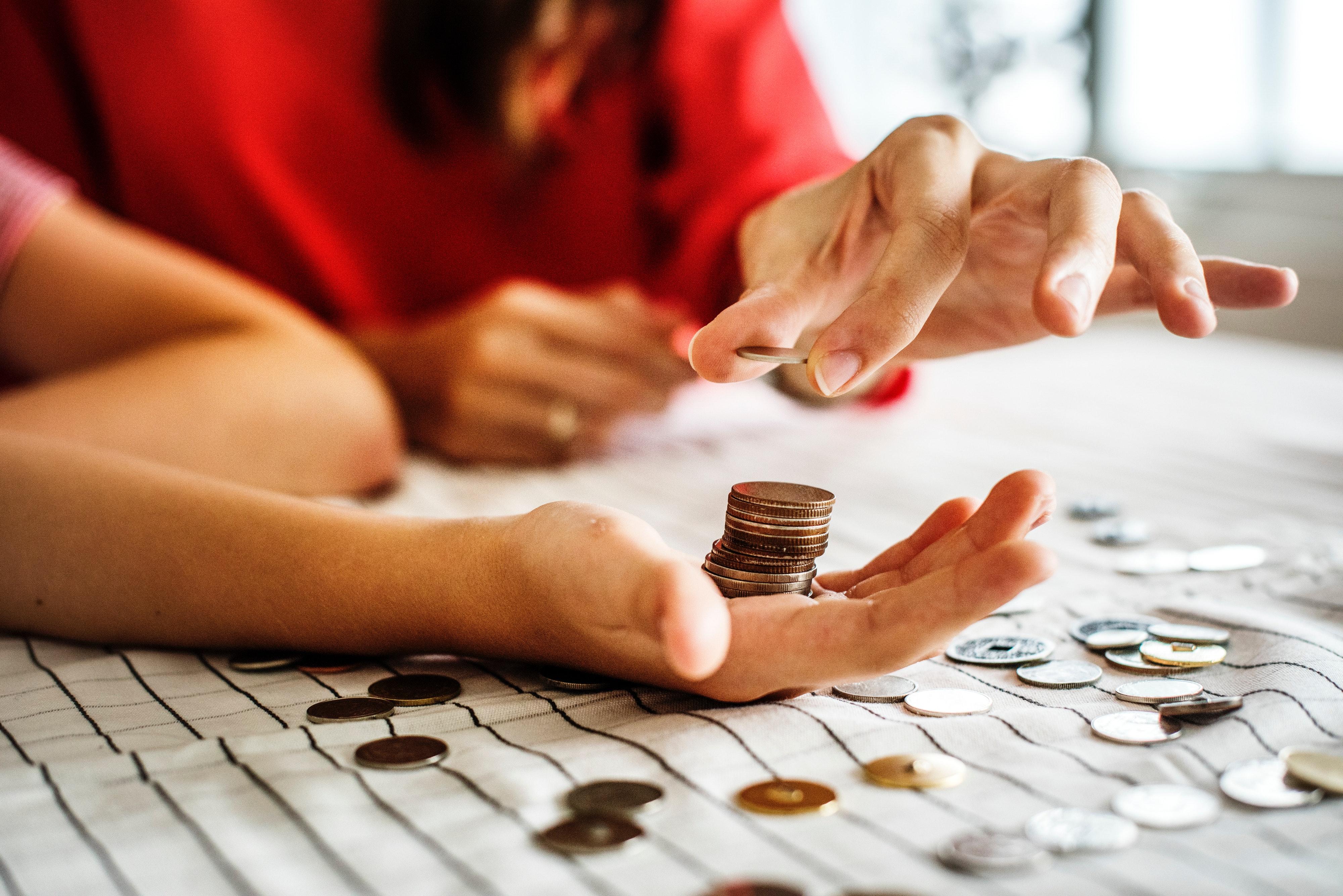 adulte banque budget argent