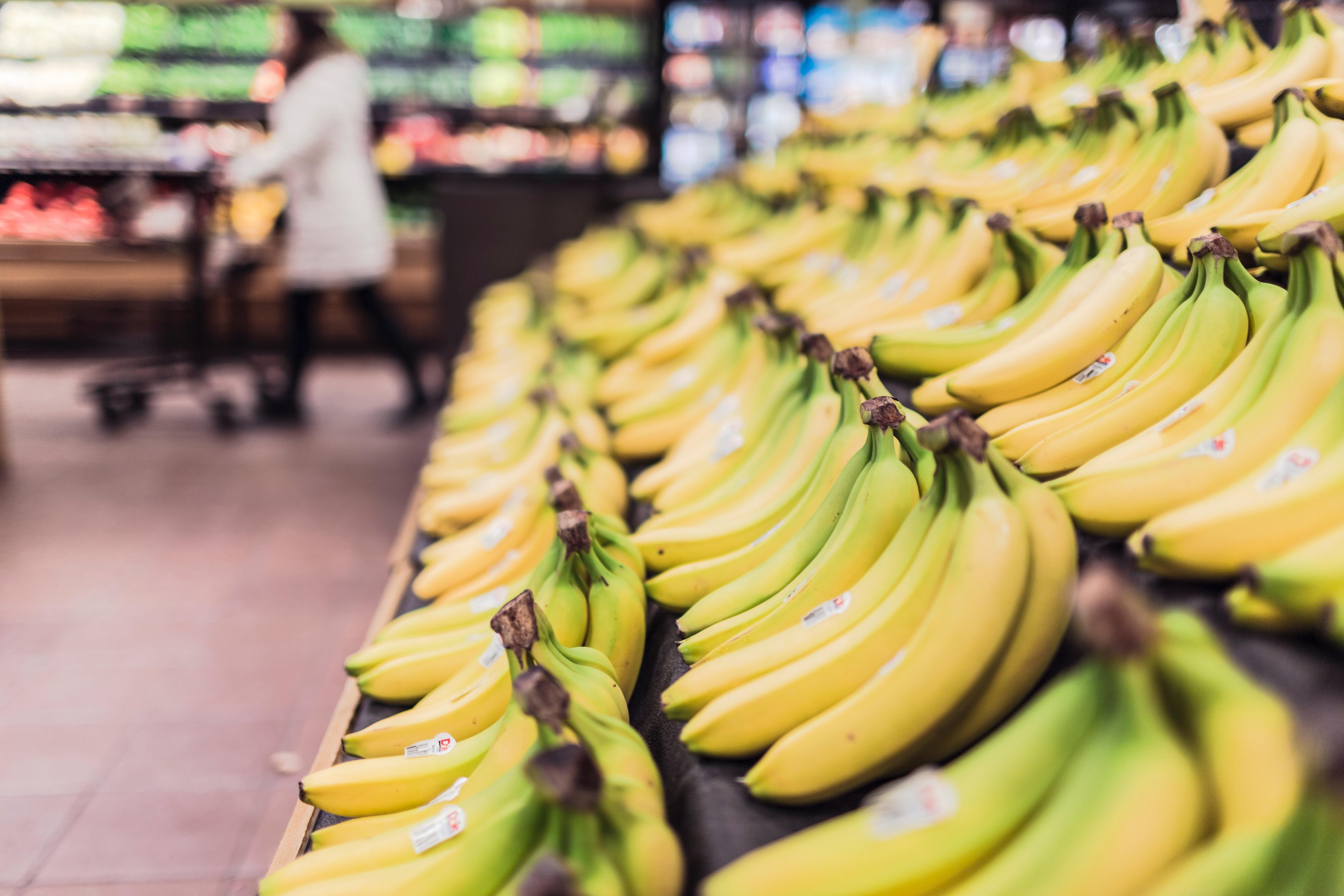 bananes fruits epicerie