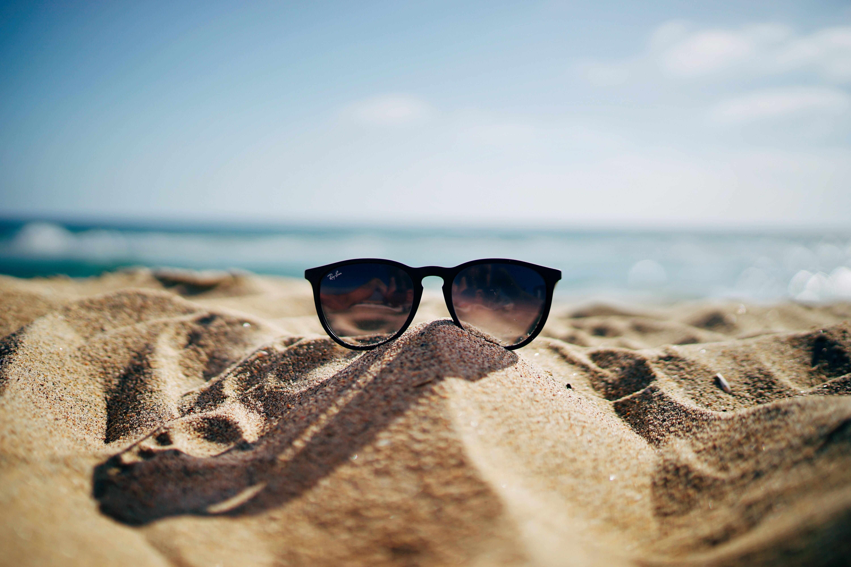 lunettes de soleil plage