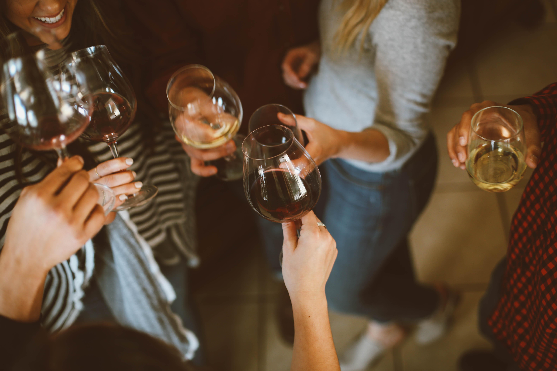 verres de vin amis 5@7