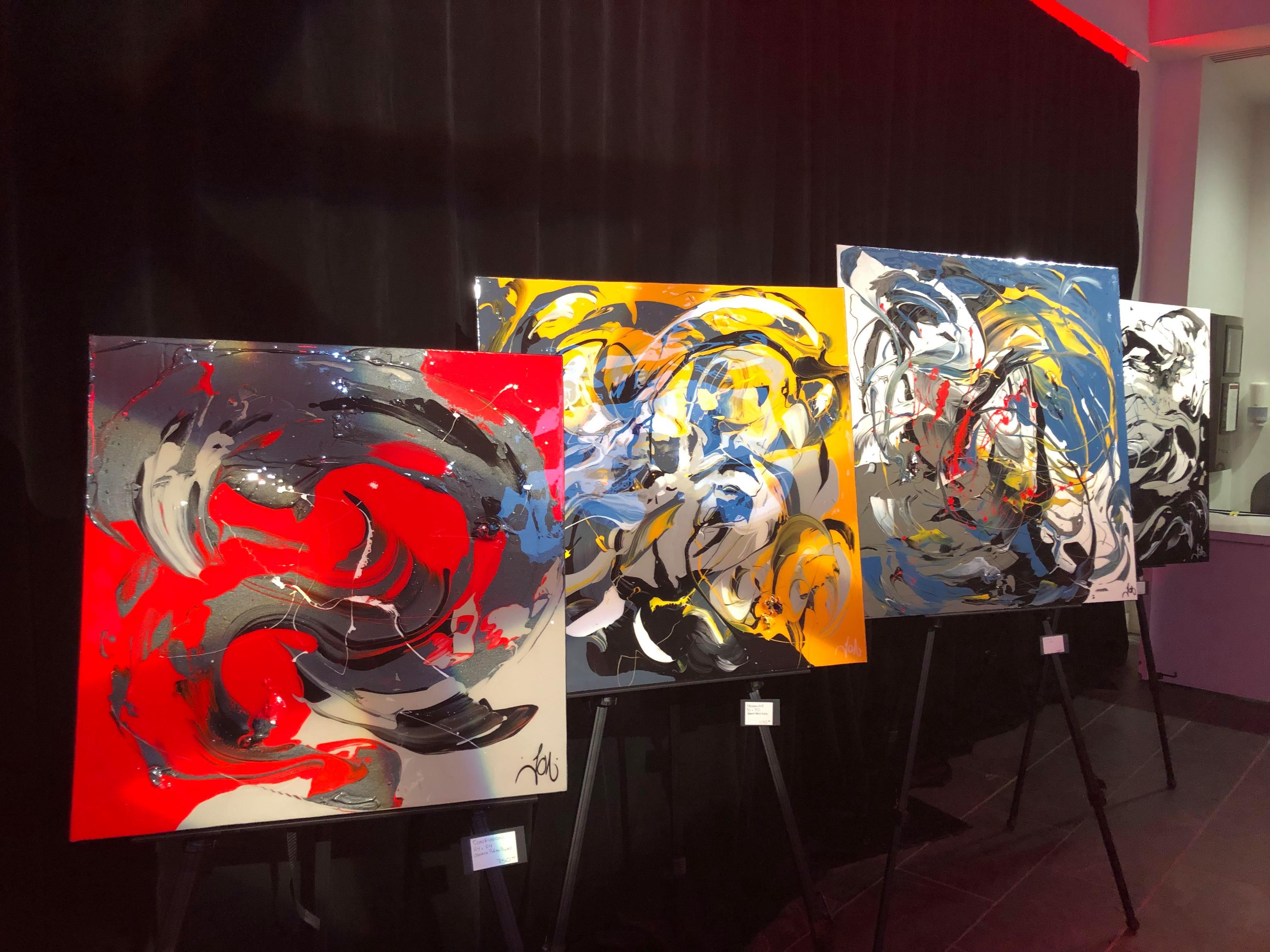 des peintures d'art