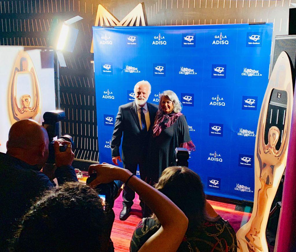 premier gala de l'adisq 2019 ginette reno tapis rouge