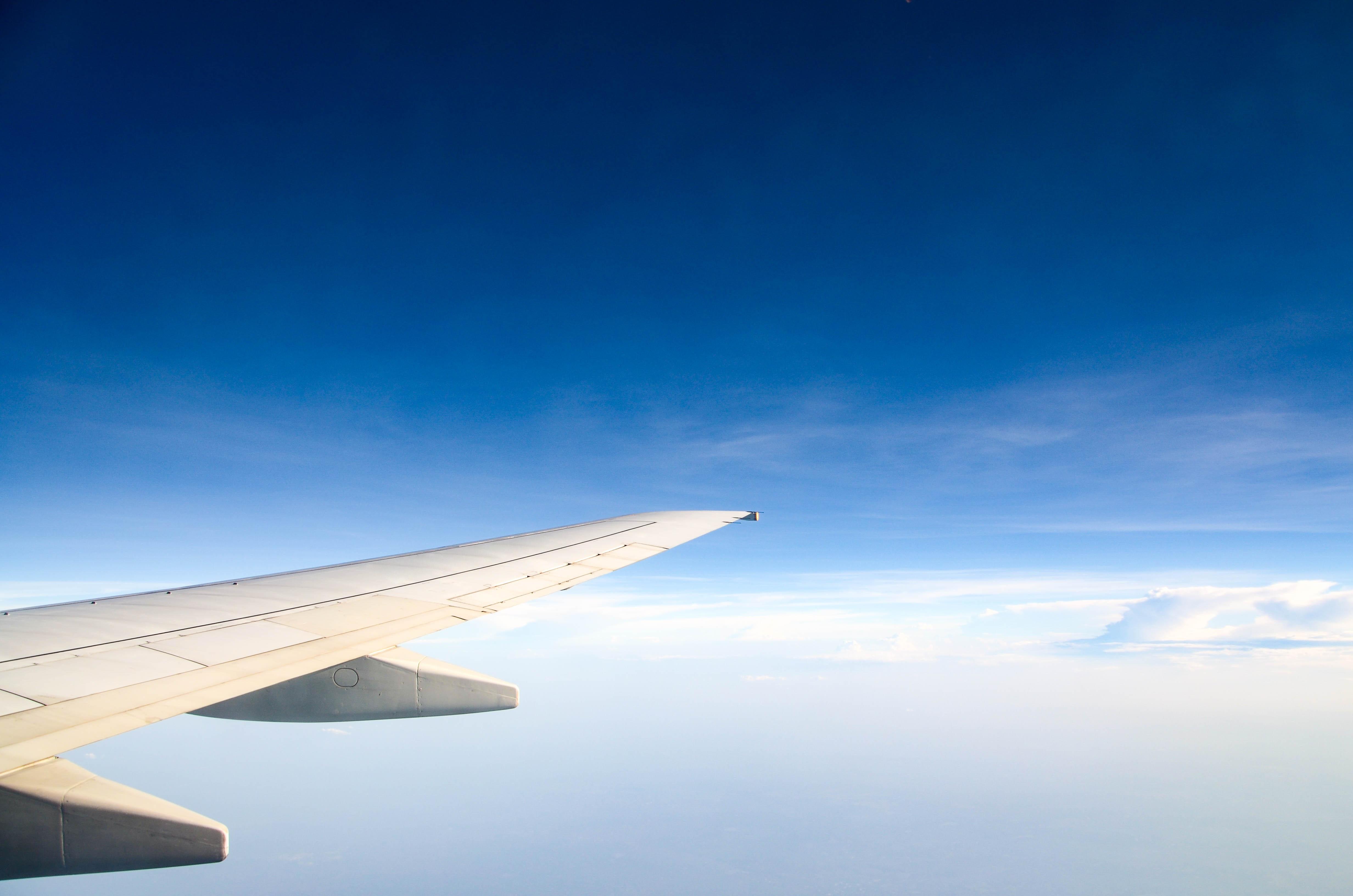 avion ciel aile