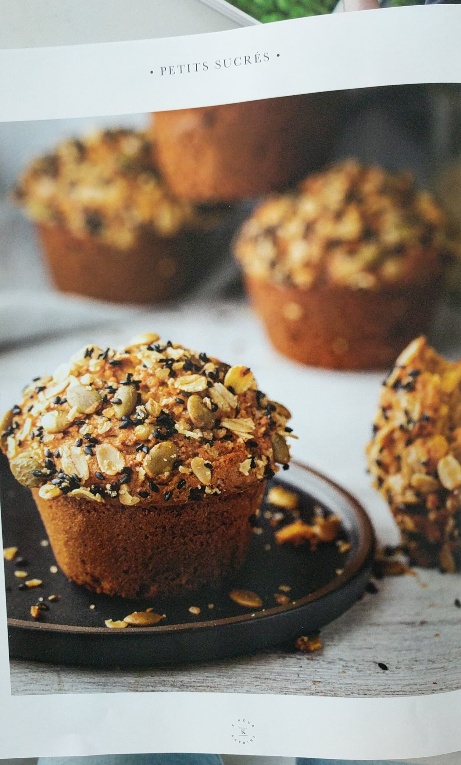 k pour katrine magazine muffins