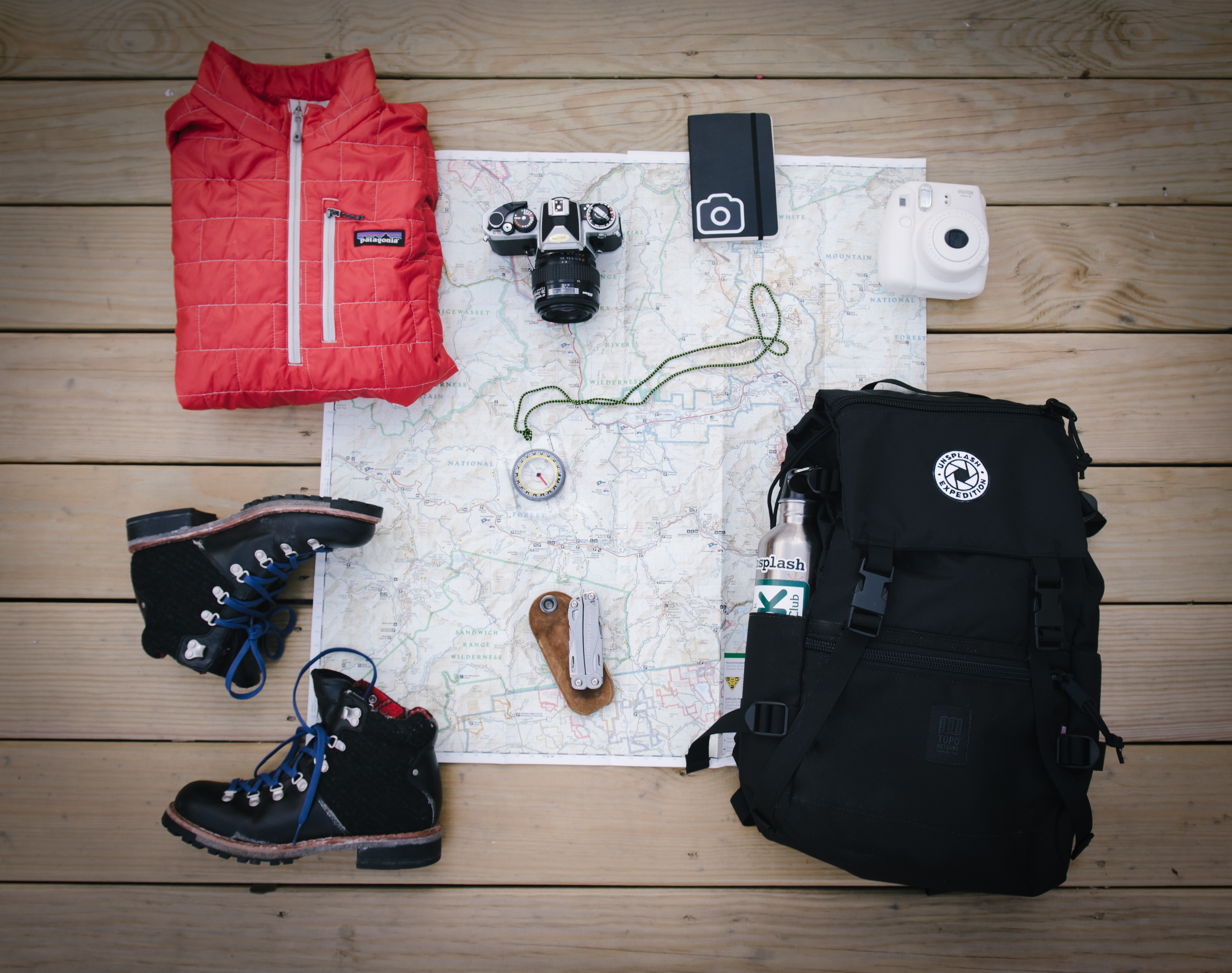 voyage préparation bagage sac à dos