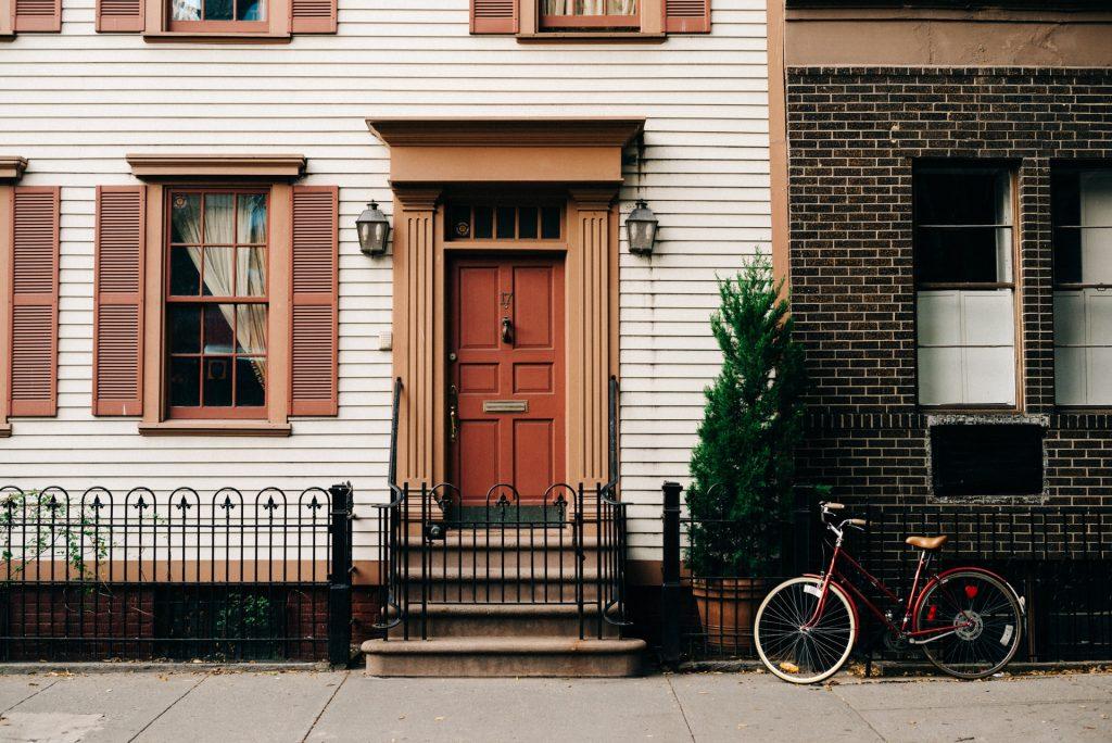 maison porte vélo
