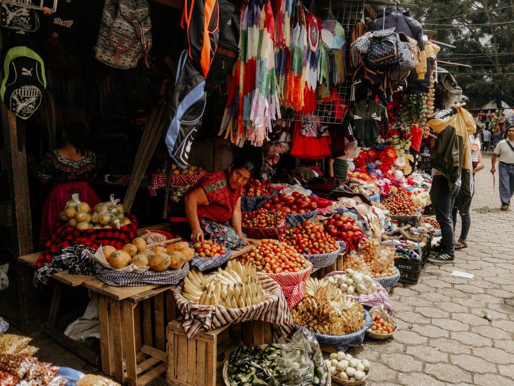 camille dg voyage guatemala anitgua marché