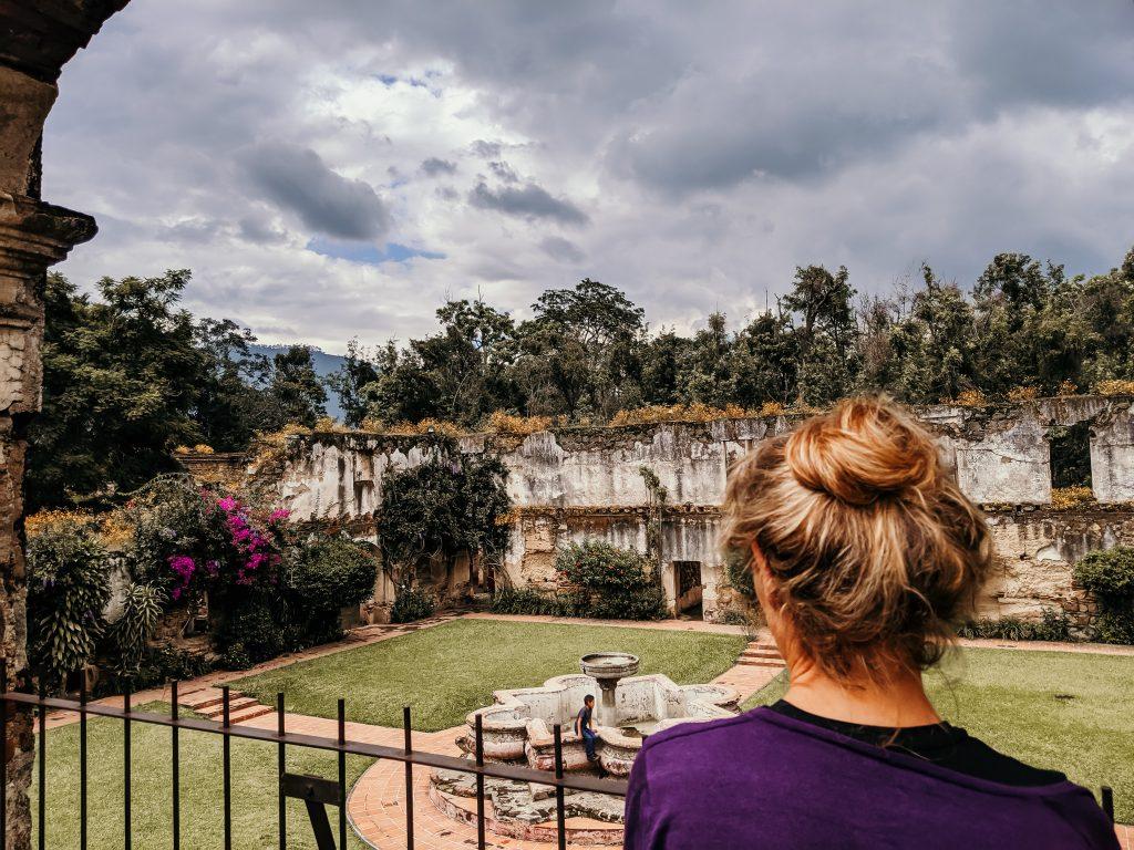 camille dg voyage guatemala antigua ruines