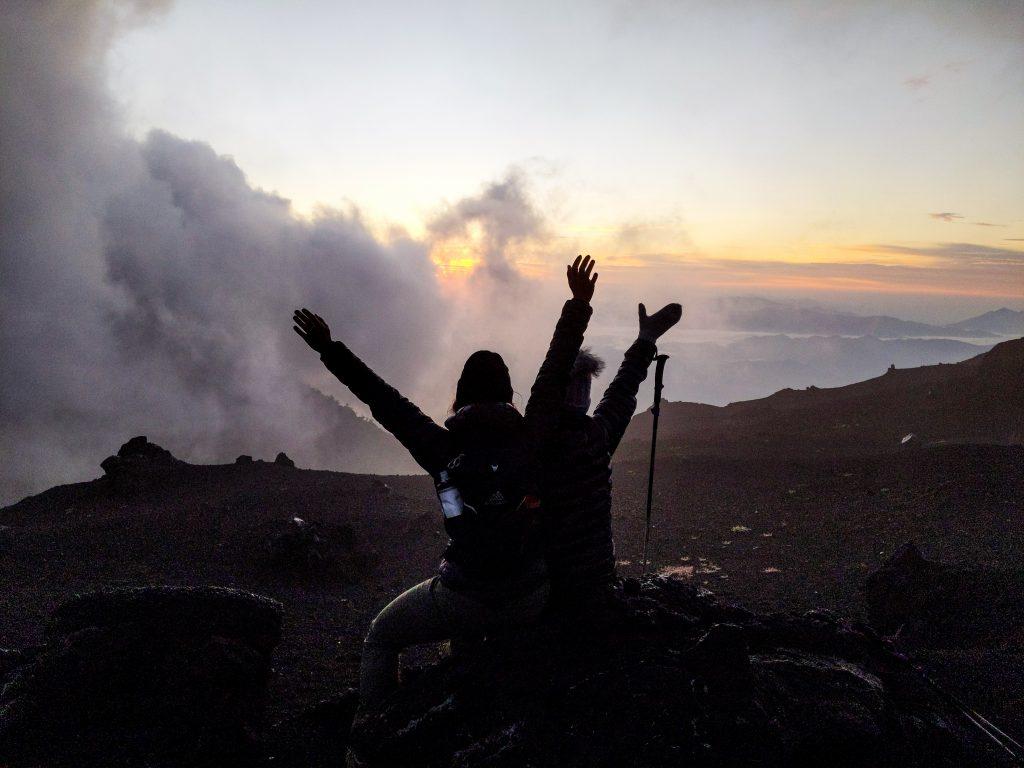 camille dg voyage guatemala volcan pacaya