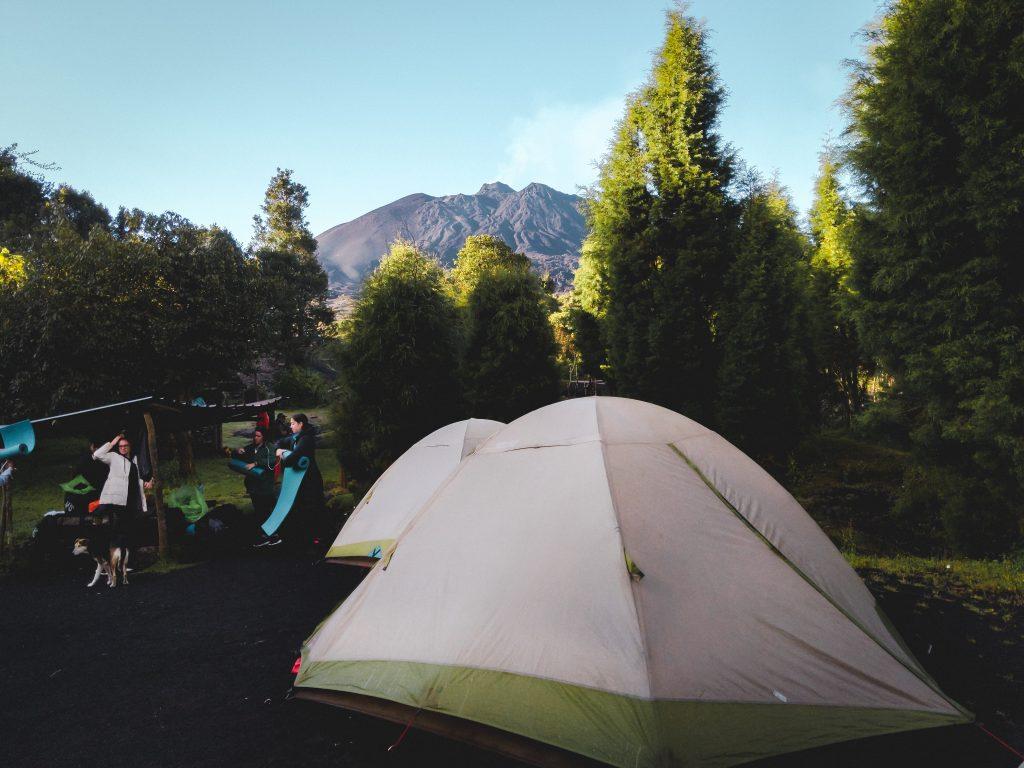 camille dg pacaya tentes guatemala