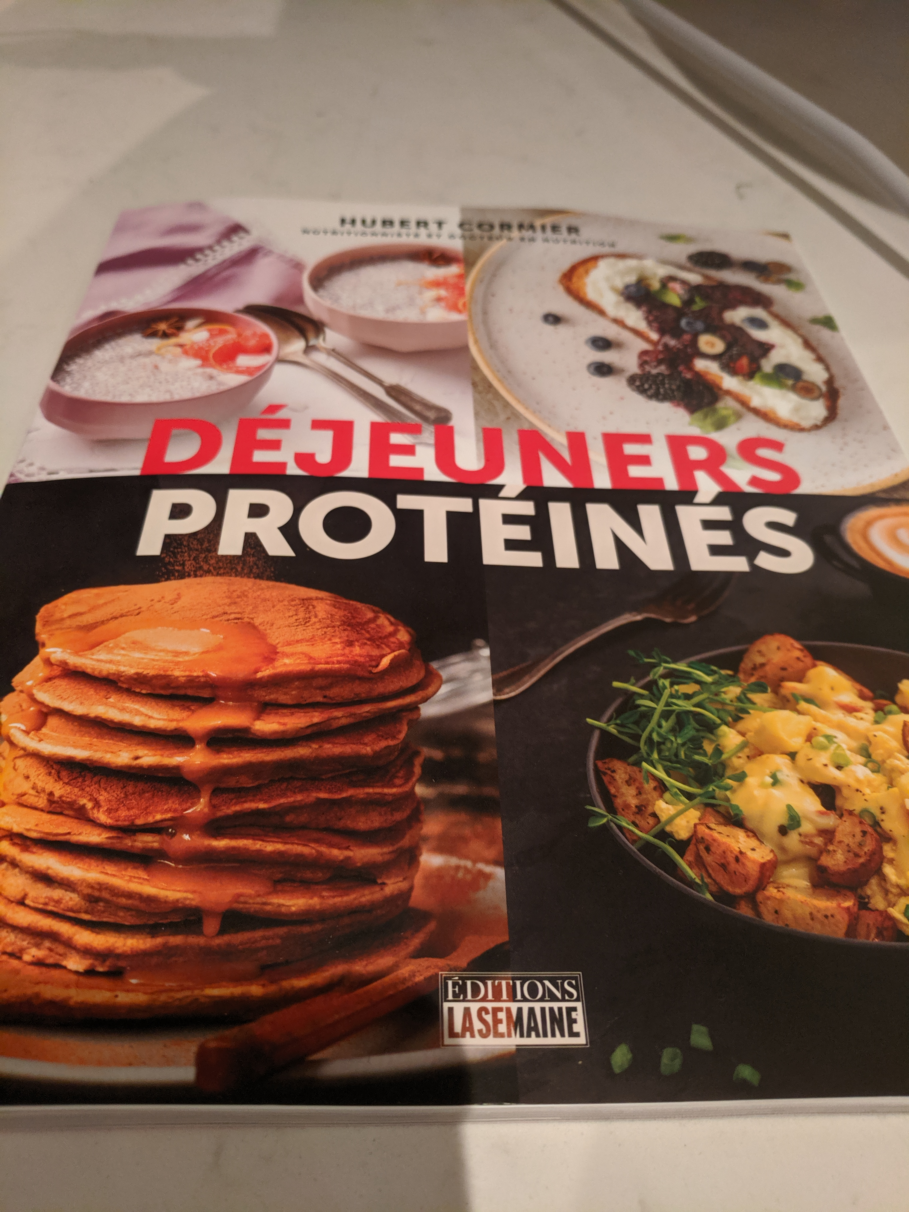 déjeuners protéinés hubert cormier