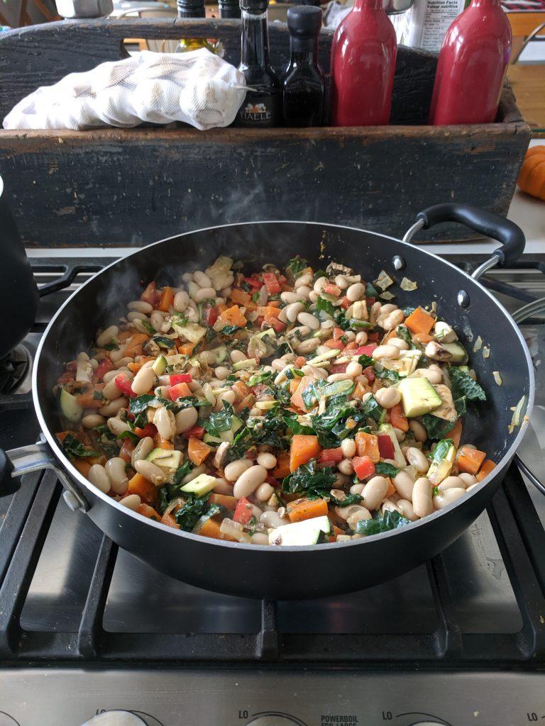 déjeuners protéinés hubert cormier casserole haricots blancs