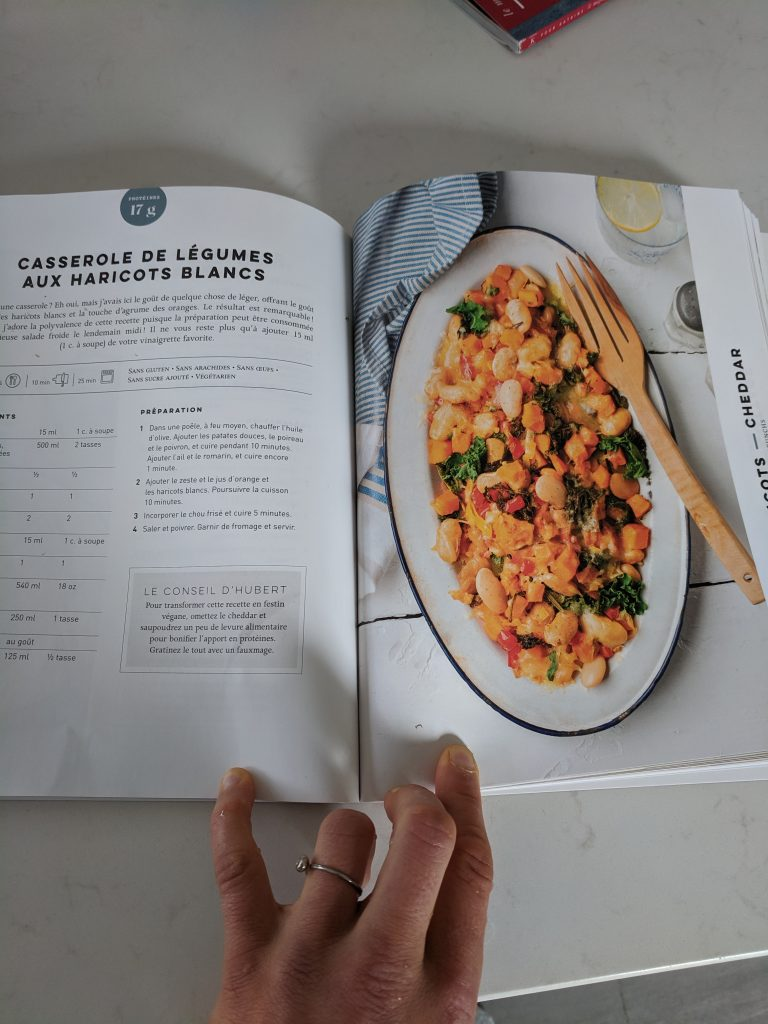 déjeuners protéinés hubert cormier casserole haricots blancsdéjeuners protéinés hubert cormier casserole haricots blancs