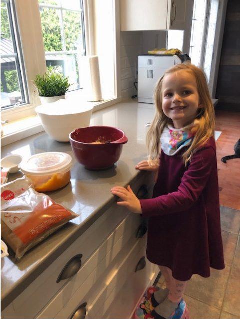 juliette enfant cuisine
