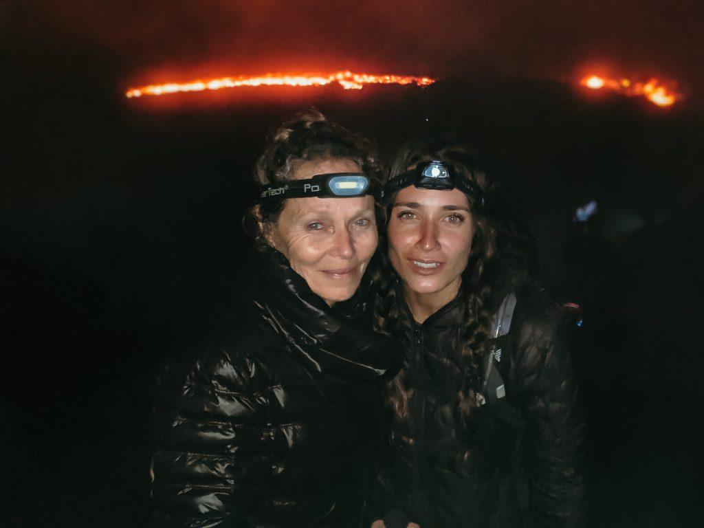 camille dg mère volcan pacaya