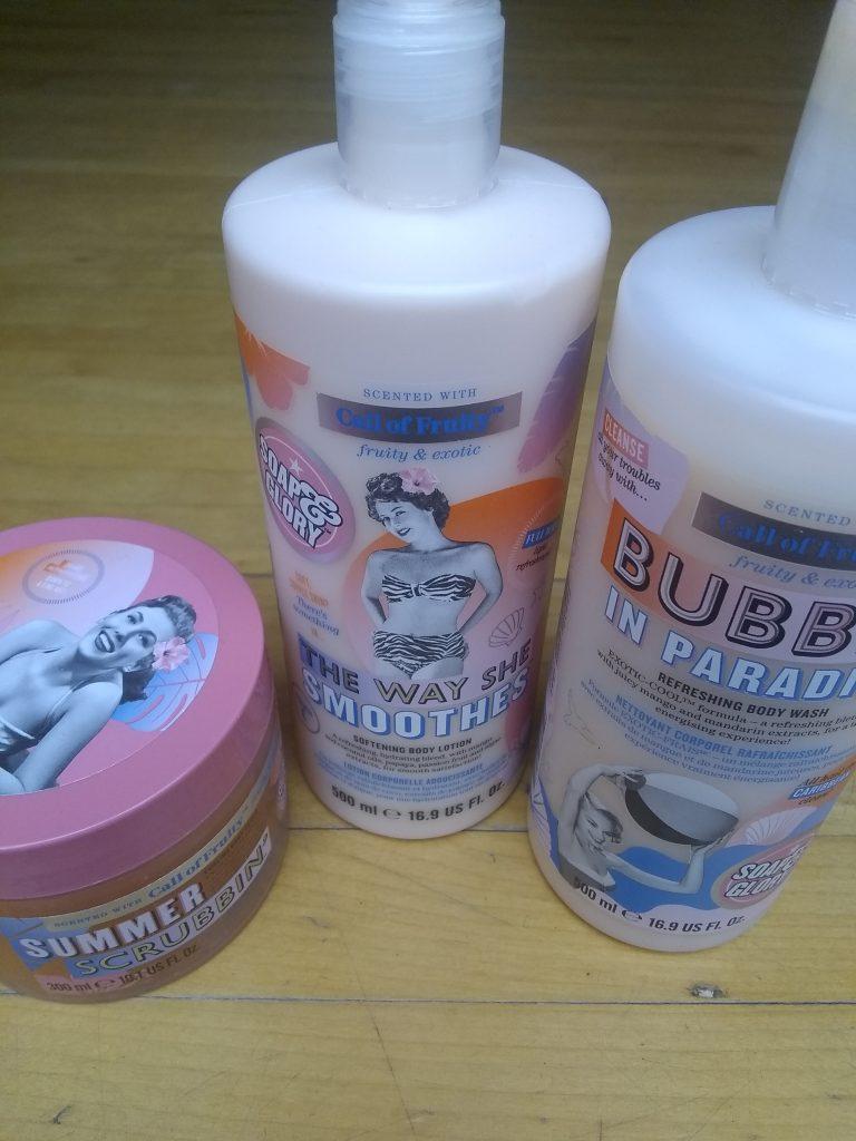 soap and glory produits pour le corps
