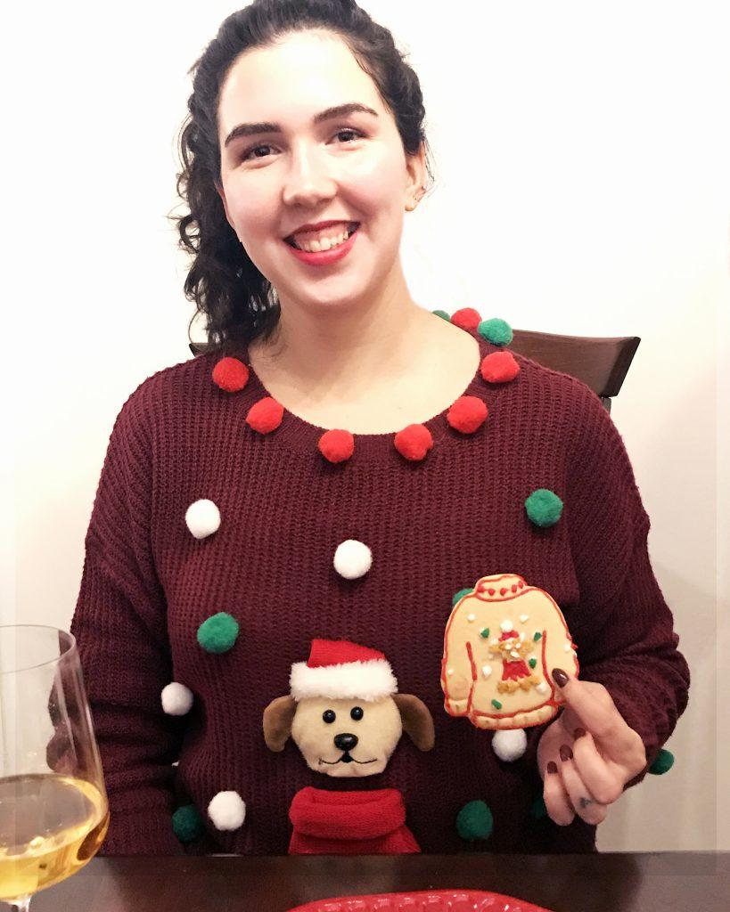 sabrina jobin-cossette ugly christmas sweater