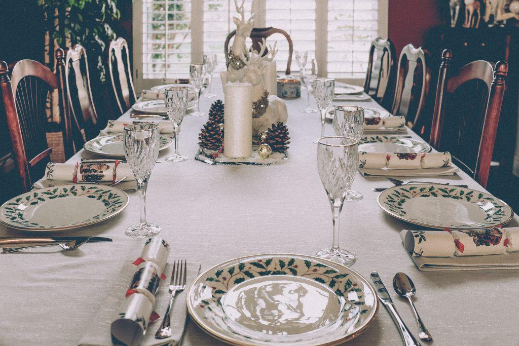 table des fêtes recevoir