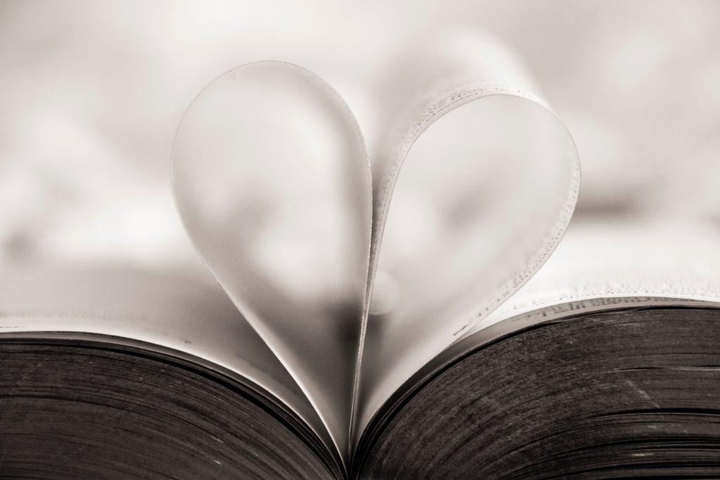 livre histoire coeur pages