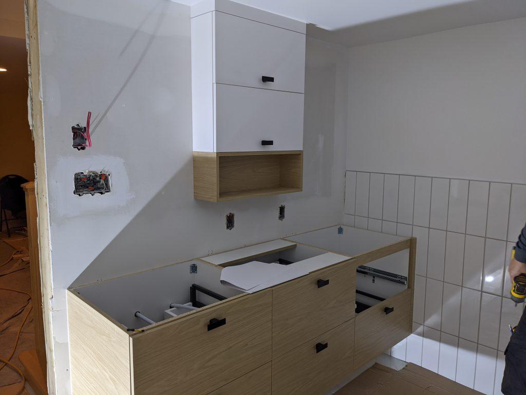 salle de bain camille dg pendant armoires cuisine action