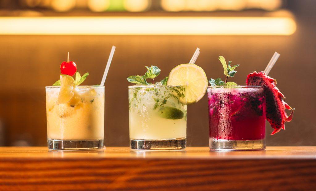 drinks cocktail verres d'alcool