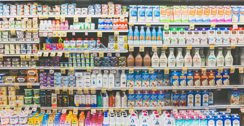 produits laitiers épicerie