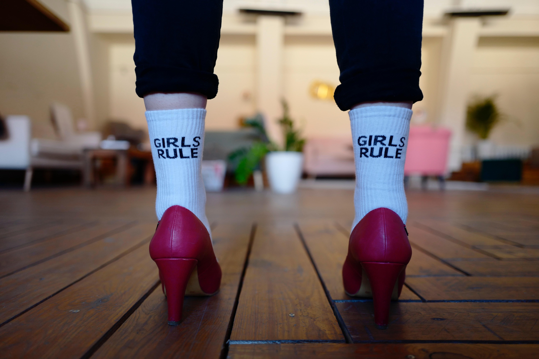 girls rule bas talons hauts