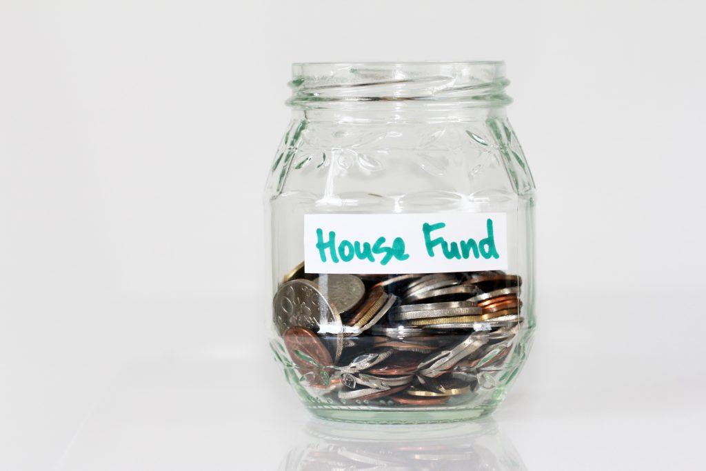 maison argent de côté économiser