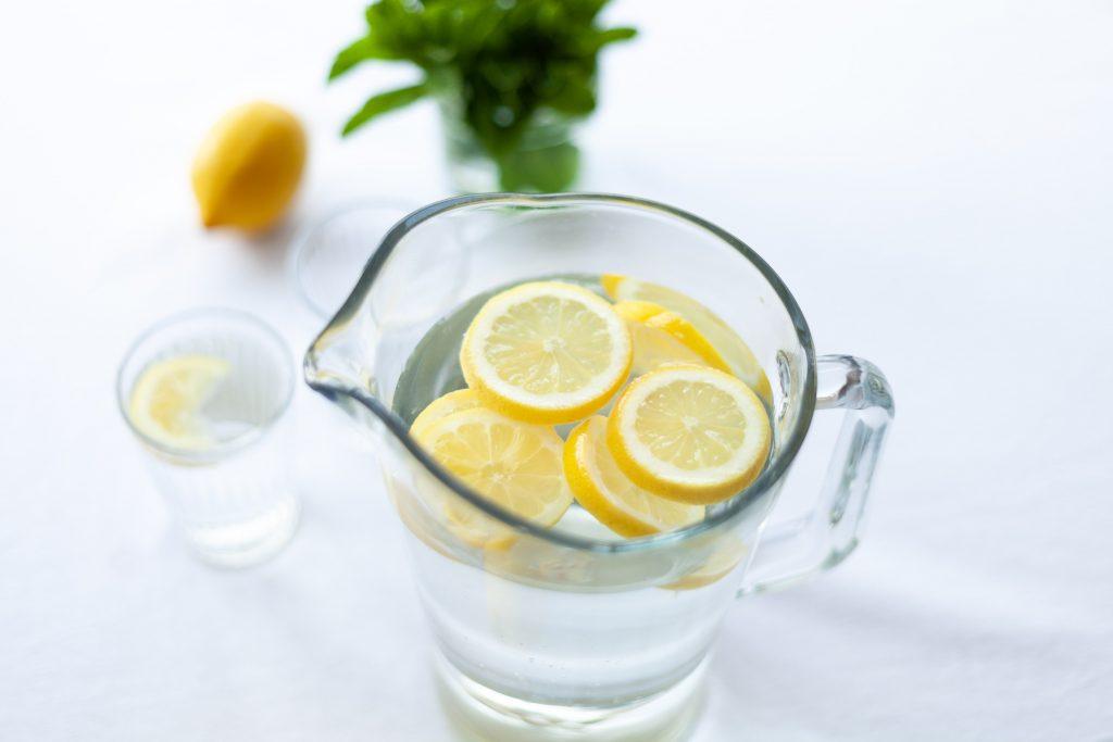 citron pichet d'eau