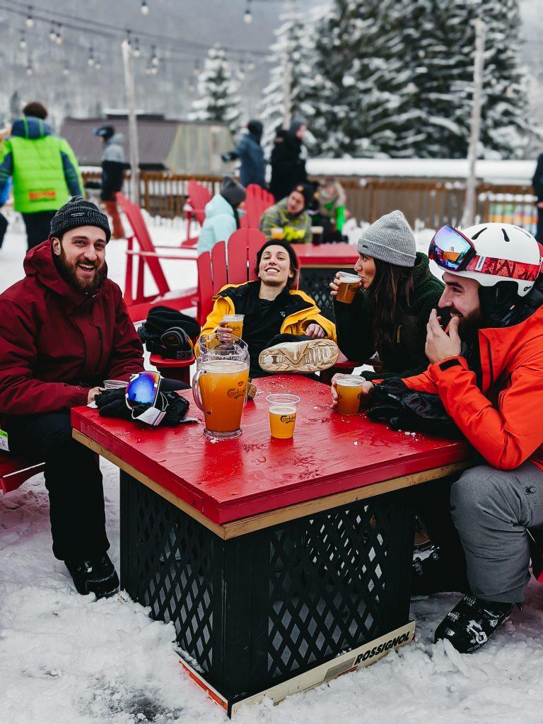 camille dg vanlife mtl sutton ski alpin