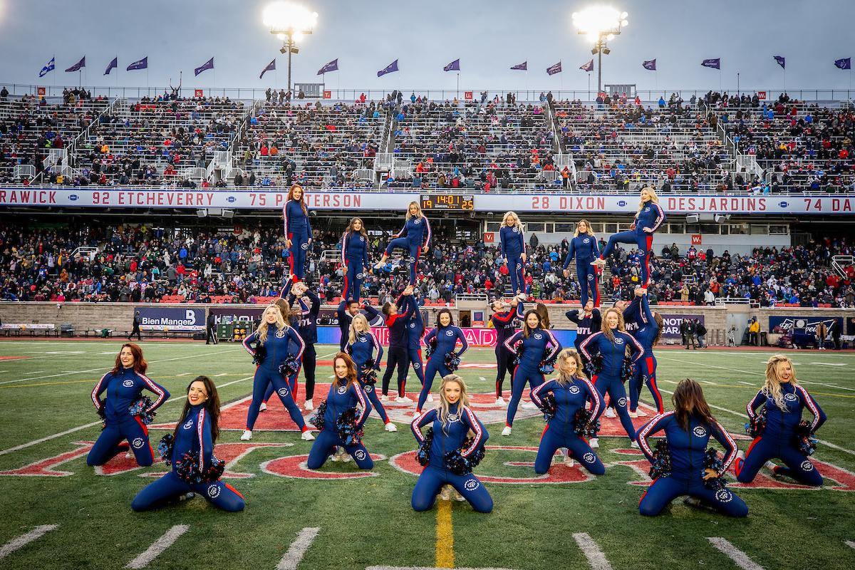 cheerleaders des Alouettes de montréal