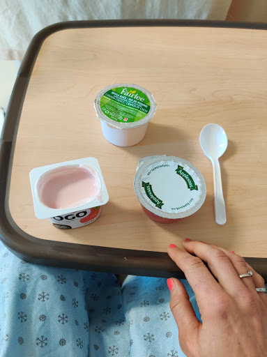repas d'hôpital