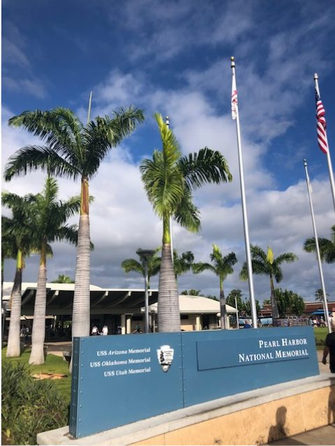 entrée Pearl Harbor