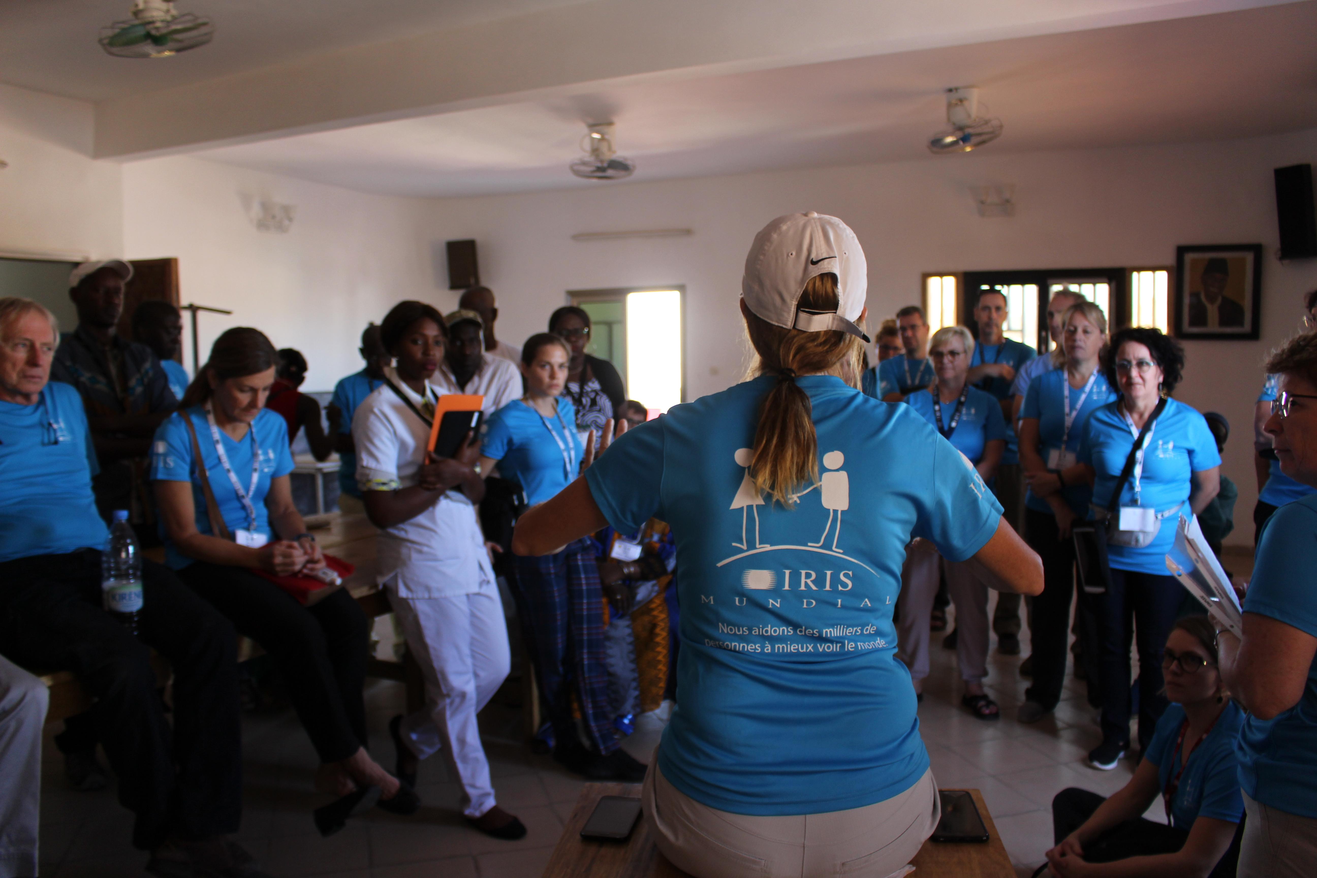 IRIS Mundial bénévoles